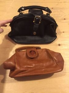 """Vintage """"Doctor"""" Purse bags and antique leather wallet-purse Cambridge Kitchener Area image 1"""