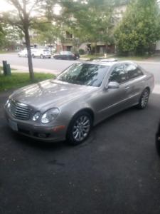 2007 Mercedes e280 4matic 3.0l in mint condition