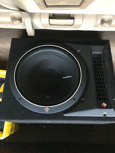 "Rockford 12"" sub and ported box $100"