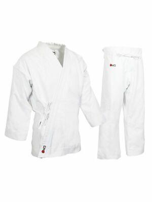 Heavyweight White Uniform (HEAVY WEIGHT CANVAS 100% COTTON KARATE UNIFORM WHITE 14OZ  )