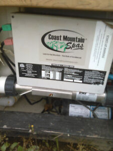 Hotub motor and heater unit,300$ firm