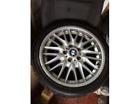 BMW MV1 Rear Wheels 8.5J staggered 255 35 18
