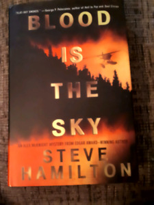 Autographed copy of Blood Is The Sky by Steve Hamilton