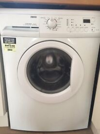 Zanussi ZWG7160P 6kg 1600 Spin White LCD Washing Machine 1 YEAR GUARANTEE FREE FITTING