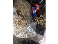 Straw bale free to collect