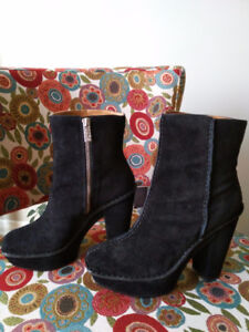 Michael Kors Ankle Suede Boots