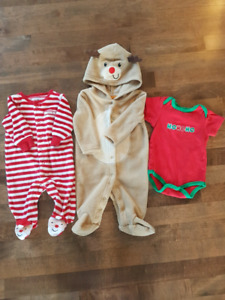 3-6 month Christmas lot