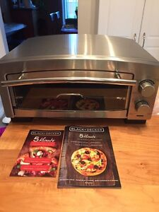 5 minute pizza oven and snack maker