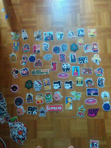 (150+) waterproof stickers for laptop/car/skate or as gift