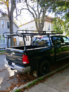 Contractor truck rack