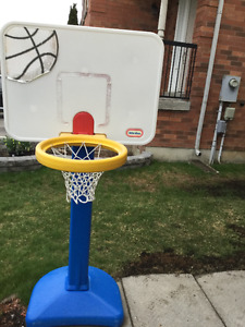 Little Tikes basketball net with stand