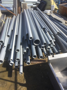 12' PVC and XFR Sched 40 Pipes - Various Sizes Available