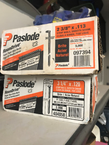 Paslode Nails never used