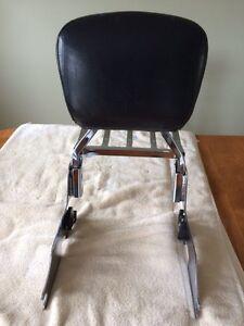 HD Sporster Detachable Backrest Like New