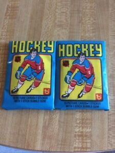 Topps NHL 1979 Wax Pack