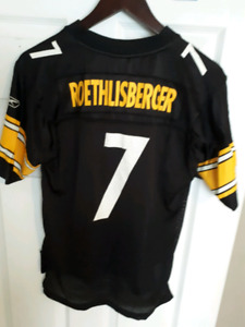 Pittsburgh Steelers Roethlisberger Youth Large Jersey