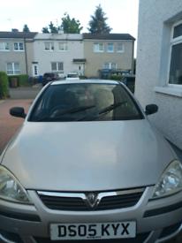 Vauxhall Corsa 1.2 2005 requires exhaust repair spares or repair