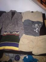 5 boxes of size M-L high end woman's clothing & accessories