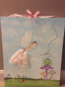 Fairy girls wall art
