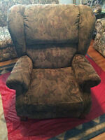 Lazyboy Recliner with Claw Feet
