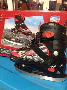 Kids ice skates/inline skates