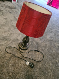 Lamp and candle holder