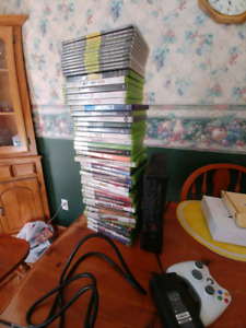 Xbox 360 250gb and 48 games!