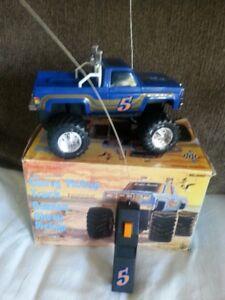 1980s Radio Shack,Chevy Pick up Truck,RC,CIB,classic chevy