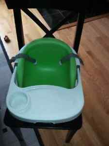 Baby base 2 in 1 booster seat, support play seat