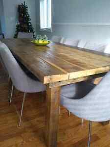 Order your reclaimed wood table! Kitchener / Waterloo Kitchener Area image 1