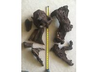 Large aquarium bogwood