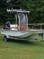 Boston whaler montauk with 75hp Mercury outboard