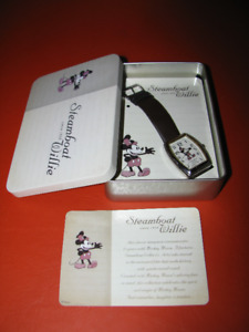 Steamboat Willie (1928) Watch with Collector Tin