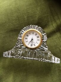 Tyrone crystal miniature clock