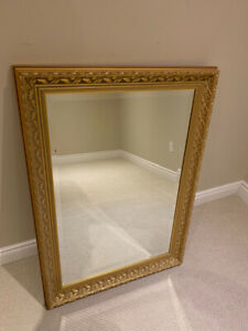 Wall Mirror in Gold