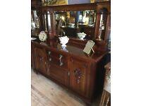 Antique Mirrored Sideboard dresser