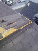 BLOWN OFF SHINGLES ROOF REPAIRS - ARNPRIOR