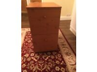 Filing cabinet , 2 drawers, ideal for home office