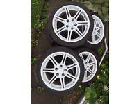 Honda Civic type r ep3 White alloys
