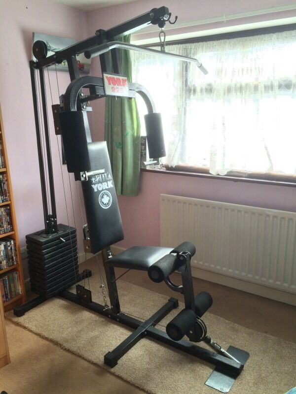 York home gym multi weights in godalming