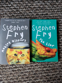 Stephen Fry books - Making History and The Liar