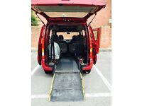 WHEELCHAIR ACCESS RENAULT KANGOO 1.2 ONLY 37000 MILEAGE