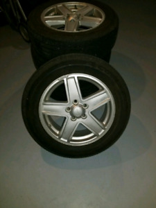 Tires and Rims for a 2010 Jeep Compass