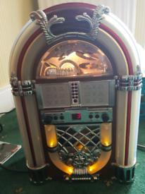 Vintage mini jukebox