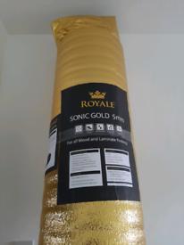 25m² Laminate underlay   Sonic Gold 5mm
