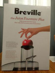 Breville the Juice Fountain Plus