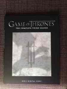 Game of Thrones The Complete Season 2 and 3 DVD