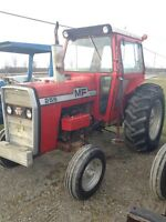 PACKAGE DEAL!  Massey Ferguson 255 with Mckee 6' Blower