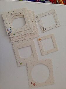 Photo frames for scrapbooking