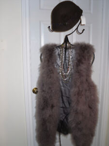 FUNKY FEATHERED Vest